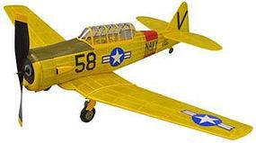 Dumas 30 Wingspan AT6 Texan Rubber Pwd Aircraft Laser Cut Kit