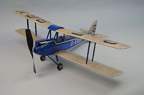 Dumas 30 Wingspan DeHavilland DH60 Gipsy Moth Rubber Pwd Aircraft Laser Cut Kit