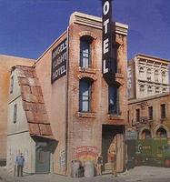 Downtown-Deco Skid Row Part Three Kit HO Scale Model Railroad Building #1033