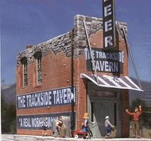 Downtown-Deco The Trackside Tavern Cast Hydrocal & Plastic Kit N Scale Model Railroad Building #2009