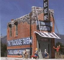 Downtown-Deco The Trackside Tavern Kit O Scale Model Railroad Building #46