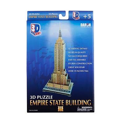 Daron Worldwide Trading Inc. Empire State Building 3D 56pcs -- 3D Jigsaw Puzzle -- #048h