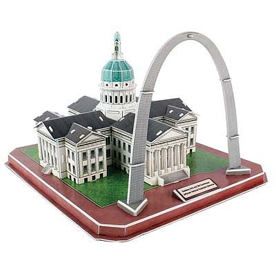 Daron Worldwide Trading Inc. Gateway Arch/Courthouse 3D 49pcs -- 3D Jigsaw Puzzle -- #157h