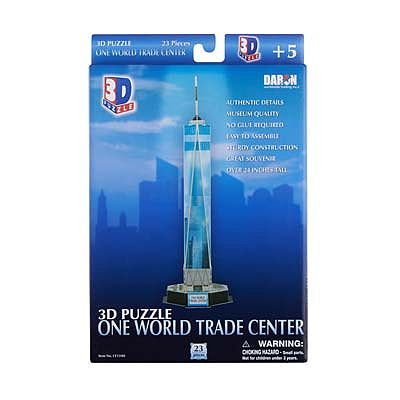Daron Worldwide Trading Inc. One World Trade Center (Freedom Tower) 3D -- 3D Jigsaw Puzzle -- #159h