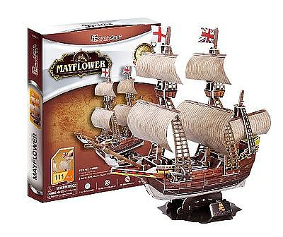 Daron Worldwide Trading Inc. Mayflower 3D Puzzle 111pcs -- 3D Jigsaw Puzzle -- #cf4009h