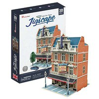 Daron JigScape HO 3D West End Theatre (55pcs) 3D Jigsaw Puzzle #ho4101h