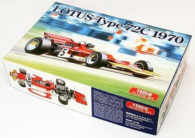 Ebbro 1/20 1970 Lotus Type 72C Team Lotus F1 Race Car