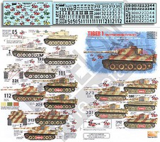 Echelon 1/35 Tiger I PzKpfw VI Ausf E Schwere PzAbt505 Early, Mid & Late Versions