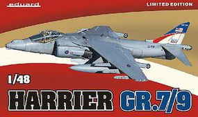 Eduard-Models Harrier GR7/9 Aircraft (Limited Edition Plastic Kit) Plastic Model Airplane Kit 1/48 #1166