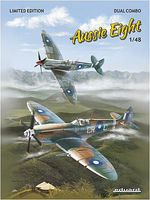Eduard-Models Spitfire Mk VIII V Australii Fighter Dual Combo Kit Plastic Model Airplane 1/48 Scale #1188