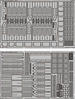 Eduard-Models He111 Bomb Bay for Revell Plastic Model Aircraft Accessory 1/32 Scale #32293