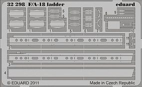 Eduard-Models F/A18 Ladder for Trumpeter Plastic Model Aircraft Accessory 1/32 Scale #32298