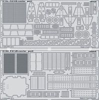 Eduard-Models P61A/B Exterior for HBO Plastic Model Aircraft Accessory 1/32 Scale #32333