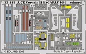 Eduard-Models Aircraft- A7E Corsair II Escapac IG2 Plastic Model Aircraft Accessory 1/32 Scale #32558