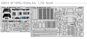 Eduard-Models Aircraft- Bf109G10 Erla for RVL Plastic Model Aircraft Decal 1/32 Scale #32815