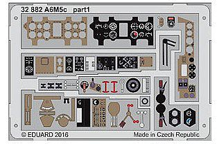 Eduard Models A6M5c for HSG -- Plastic Model Aircraft Accessory -- 1/32 Scale -- #32882