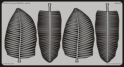 Eduard Models Palm Leaves II -- Miscellaneous Detailing Item -- 1/35 Scale -- #35616