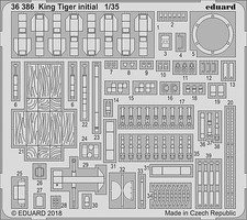Eduard-Models 1/35 Armor- King Tiger Initial for TAO