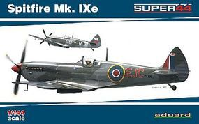 Eduard-Models Spitfire Mk IXe Fighter Dual Combo Plastic Model Airplane 1/144 Scale #4428