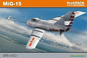 Eduard-Models Mig15 bis Fighter Plastic Model Airplane Kit 1/72 Scale #7057