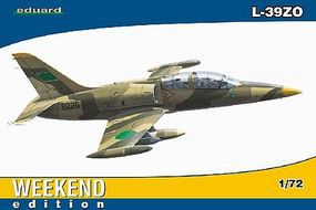 Eduard-Models L39ZO Aircraft (Weekend Edition) Plastic Model Airplane Kit 1/72 Scale #7416
