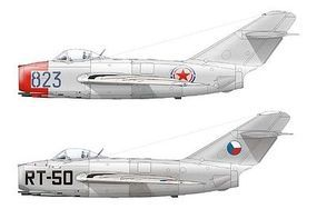 Eduard-Models MiG15 Fighter (Weekend Edition) Plastic Model Airplane Kit 1/72 Scale #7423