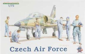 Eduard-Models Czech Air Force Personnel Plastic Model Military Figure Kit 1/72 Scale #7501