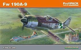 Eduard-Models Fw190A9 Late WWII Fighter (Profi-Pack) Plastic Model Airplane Kit 1/48 Scale #8187