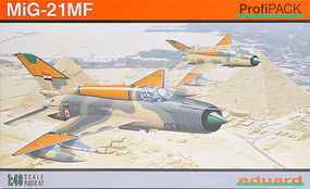 Eduard-Models MiG21 MF Fighter (Profi-Pack) Plastic Model Airplane Kit 1/48 Scale #8231