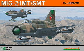 Eduard-Models MiG21 SMT Fighter (Profi-Pack) Plastic Model Airplane Kit 1/48 Scale #823