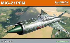 Eduard-Models MiG21 PFM Fighter (Profi-Pack) Plastic Model Airplane Kit 1/48 Scale #8237