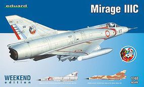 Eduard-Models Mirage III C Fighter (Weekend Edition Kit) Plastic Model Airplane 1/48 Scale #8496
