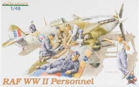 Eduard-Models WWII RAF Personnel Plastic Model Military Figure Kit 1/48 Scale #8508