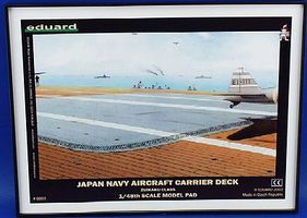 Eduard-Models WWII IJN Aircraft Carrier Deck Plastic Model Airplane Kit 1/48 Scale #8803