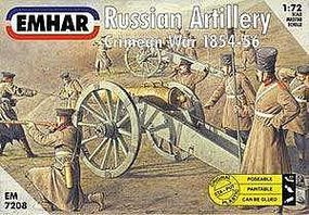Emhar-squadron Crimean War 1854-56 Russian Artillery Plastic Model Military Figure Kit 1/72 Scale #7208