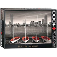 EuroGraphics Boston Marina 1000pcs Jigsaw Puzzle 600-1000 Piece #6000-0661