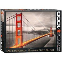 EuroGraphics San Francisco Golden Gate Bridge 1000pcs Jigsaw Puzzle 600-1000 Piece #6000-0663