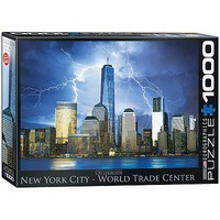 EuroGraphics New York City Freedom Tower 1000pcs Jigsaw Puzzle 600-1000 Piece #6000-0731