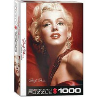 EuroGraphics Marilyn Monroe Red Portrait 1000pcs Jigsaw Puzzle 600-1000 Piece #6000-0812