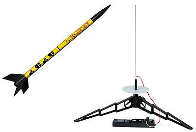 Estes Rockets HeliCAT Model Rocket Starter Set -- Easy To Assemble -- #1465