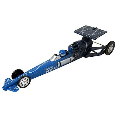 Estes Rockets Blue Blurzz Dragster -- Ready To Fly Model Rocket -- #2502
