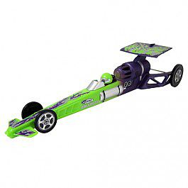 Estes Rockets Green Blurzz Dragster -- Ready To Fly Model Rocket -- #2503