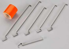 Estes Model Rocket Engine Hook Pack Assorted Sizes #303143