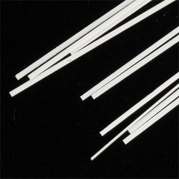 Evergreen Plastic Styrene Strips 1x3 HO (10) -- Model Railroad Scratch Building Supply -- #8103