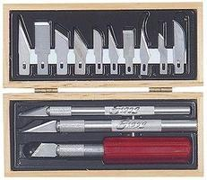 Excel Basic Knife Set in Wooden Box