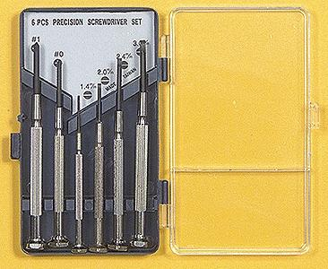 Excel Hobby Blades Precision Screwdriver Set (6)