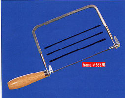 Excel Coping Saw with 4 Blade