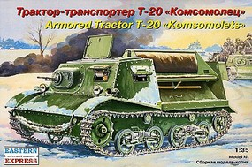 Eastern-Express 1/35 T20 Russian Armored Artillery Tractor