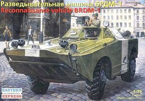 Eastern-Express 1/35 BRDM1 Russian Armored Recon Patrol Vehicle