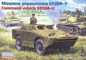 Eastern-Express 1/35 BRDM-U Command Post Russian Armored Recon Patrol Vehicle